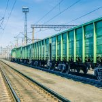 Kasachstan-Bahntransport
