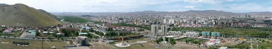 Panorama-Ulan-Bator-mongolei