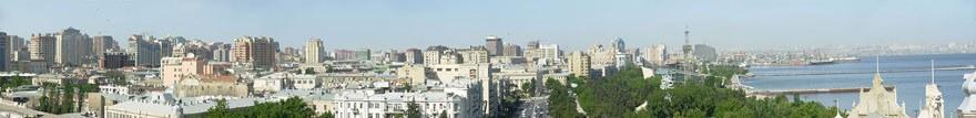 Aserbaidschan_Baku_panorama