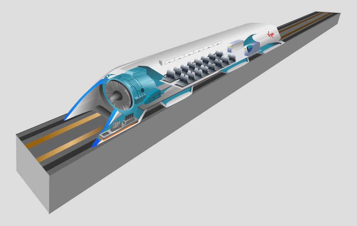Hyperloop in der Ukraine revolutioniert europäische Transportinfrastruktur